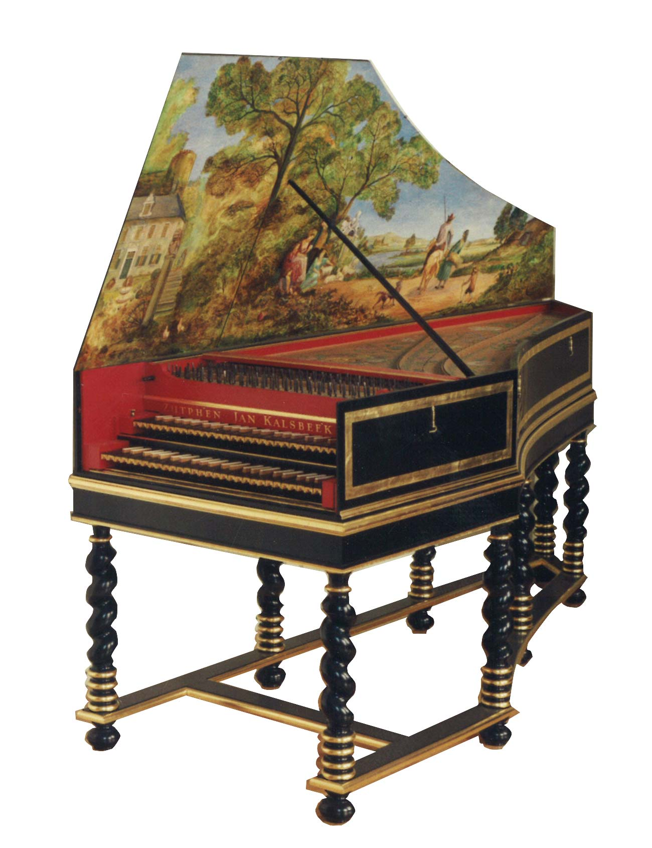 Denis harpsichord made by Jan Kalsbeek