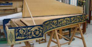 Italian single Harpichord