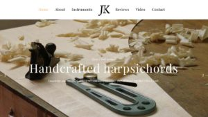 Jan Kalsbeek harpsichord builder
